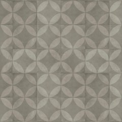 TILE FLOWER DARK GREY 5829114 2m